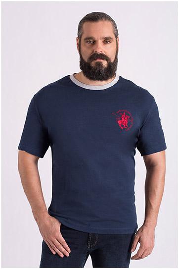 Sport, Camisetas M. Corta, 107983, MARINO