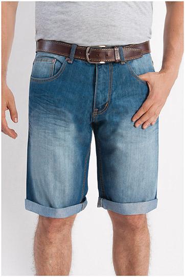 Pantalones, Bermudas, 108011, INDIGO