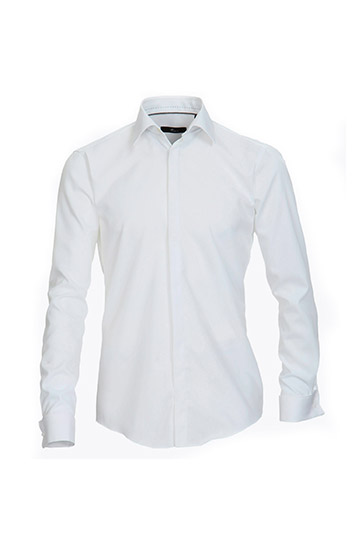 Camisas, Ceremonia, 108018, BLANCO