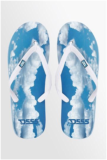 Zapatos y Etiqueta, Chanclas, 108060, CELESTE