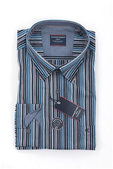 Camisas, Sport Manga Larga, 108148, MARINO