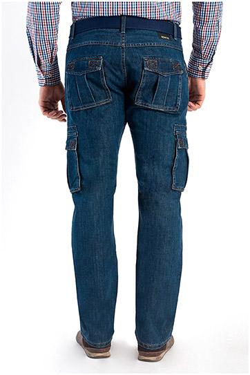 Pantalones, Vaqueros, 108171, INDIGO