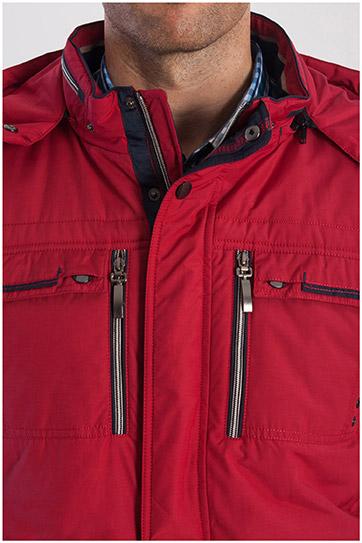 Abrigo, Chaquetones y Piel, 108214, GRANATE