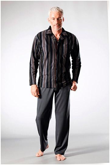 Homewear, Pijama M. Larga, 108230, ANTRACITA