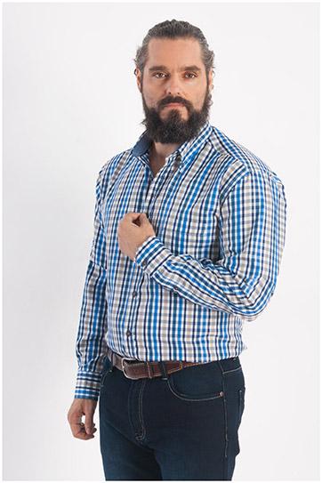 Camisas, Sport Manga Larga, 108290, BEIGE