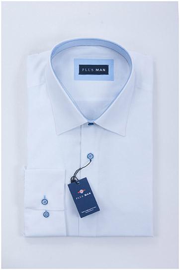 Camisas, Vestir Manga Larga, 108291, BLANCO