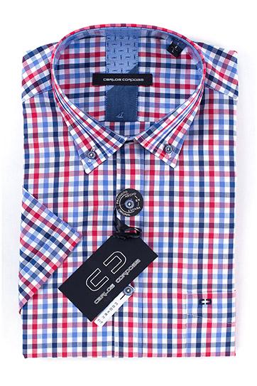 Camisas, Sport Manga Corta, 108357, GRANATE