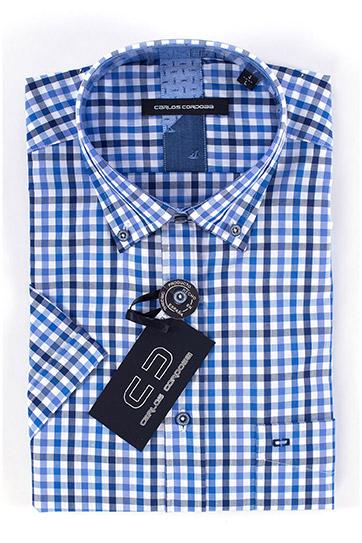 Camisas, Sport Manga Corta, 108357, MARINO