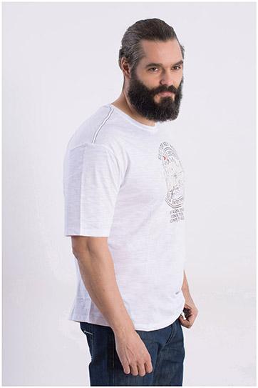 Sport, Camisetas M. Corta, 108362, BLANCO