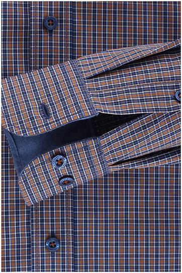 Camisas, Sport Manga Larga, 108368, MARINO