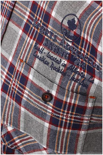 Camisas, Sport Manga Larga, 108377, GRIS MEDIO