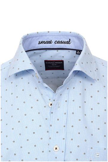 Camisas, Vestir Manga Larga, 108378, CELESTE