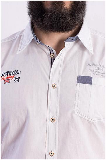 Camisas, Sport Manga Corta, 108415, BLANCO