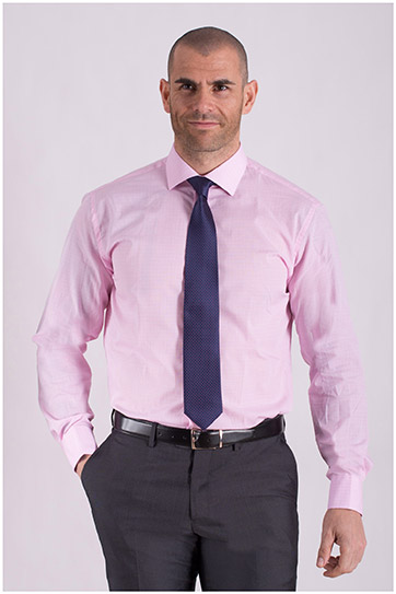 Camisas, Vestir Manga Larga, 108433, ROSA
