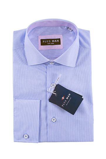 Camisas, Vestir Manga Larga, 108435, CELESTE