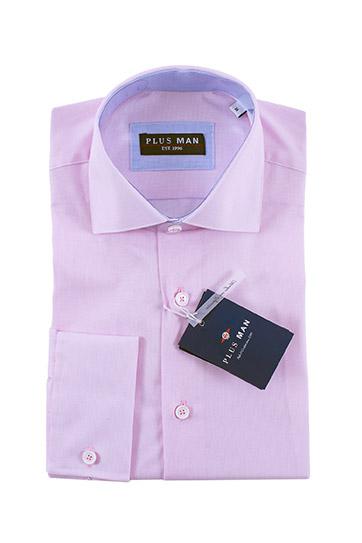 Camisas, Vestir Manga Larga, 108435, ROSA