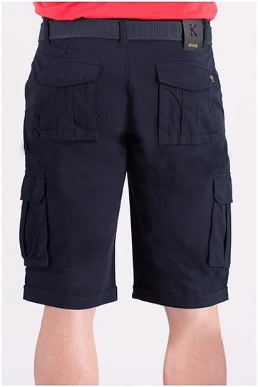 Pantalones, Bermudas, 108472, MARINO