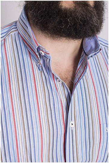 Camisas, Sport Manga Larga, 108490, MARINO