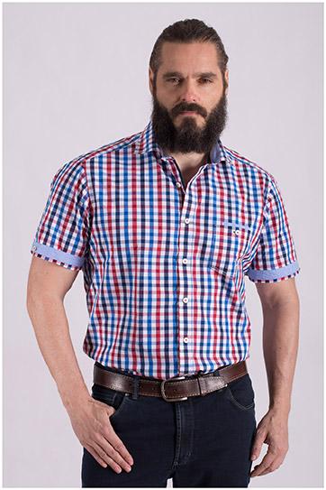 Camisas, Sport Manga Corta, 108493, MARINO