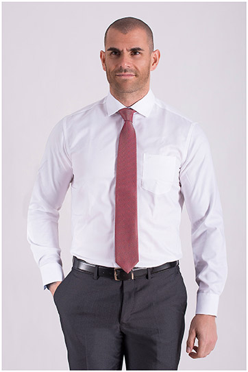 Camisas, Vestir Manga Larga, 108504, BLANCO