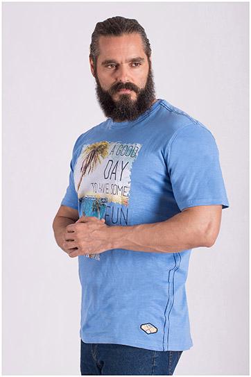 Sport, Camisetas M. Corta, 108511, COBALTO