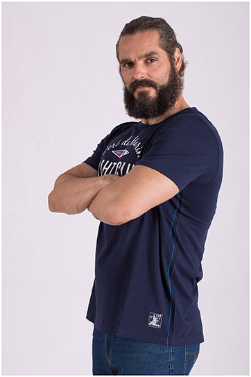 Sport, Camisetas M. Corta, 108515, MARINO
