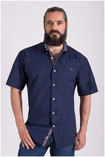 Camisas, Sport Manga Corta, 108518, MARINO
