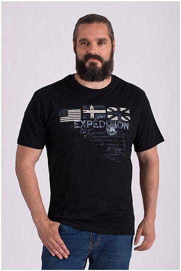 Sport, Camisetas M. Corta, 108523, NEGRO