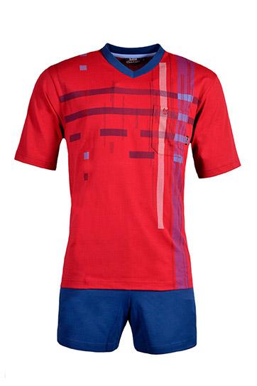Homewear, Pijama M. Corta, 108526, ROJO