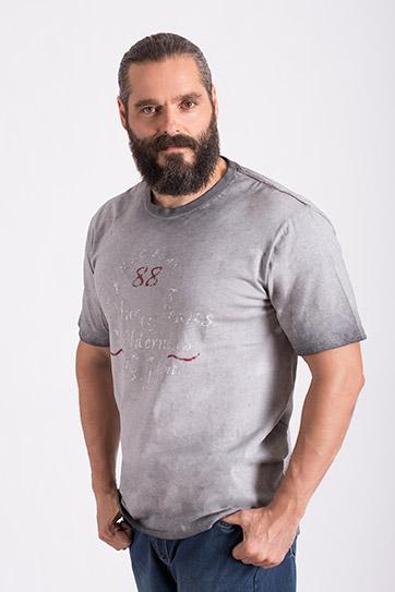 Sport, Camisetas M. Corta, 108567, PIEDRA
