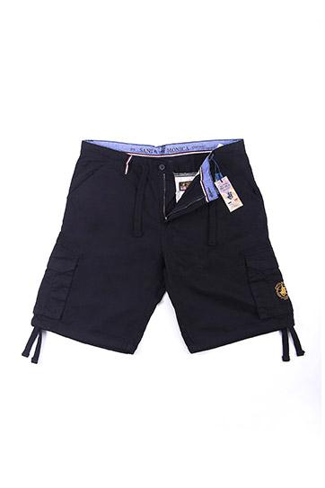 Pantalones, Bermudas, 108586, NEGRO