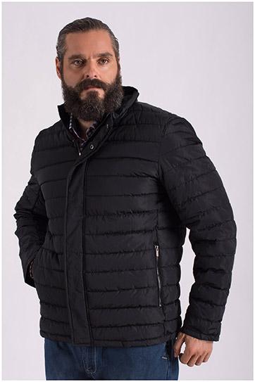 Abrigo, Chaquetones y Piel, 108596, NEGRO