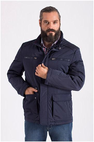 Abrigo, Chaquetones y Piel, 108599, MARINO