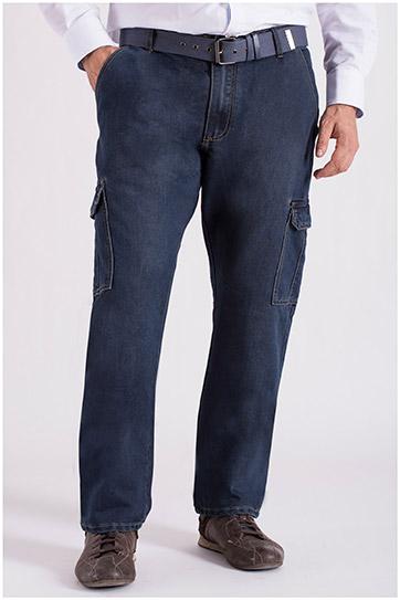 Pantalones, Vaqueros, 108639, INDIGO