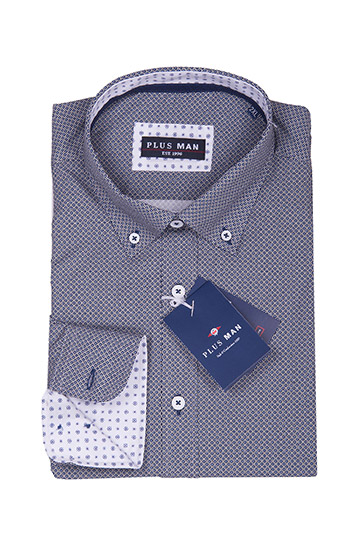 Camisas, Sport Manga Larga, 108665, MARINO