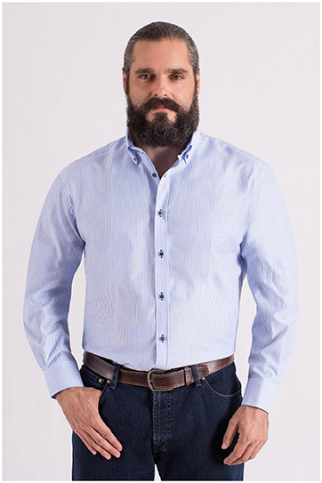 Camisas, Sport Manga Larga, 108670, DUCADOS