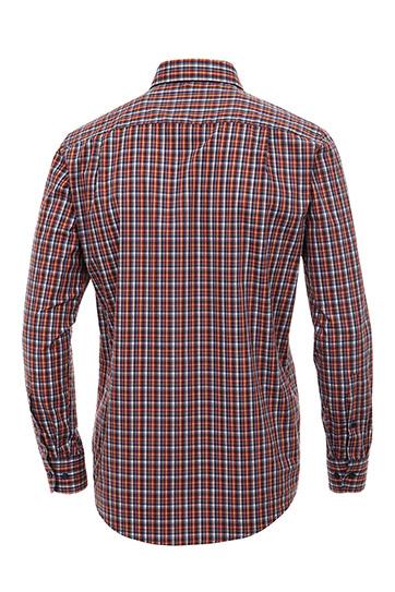 Camisas, Sport Manga Larga, 108894, ROJO