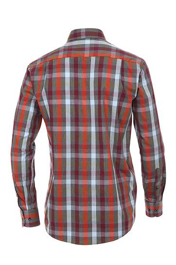 Camisas, Sport Manga Larga, 108899, BURDEOS
