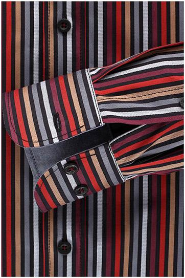 Camisas, Sport Manga Larga, 108910, GRANATE