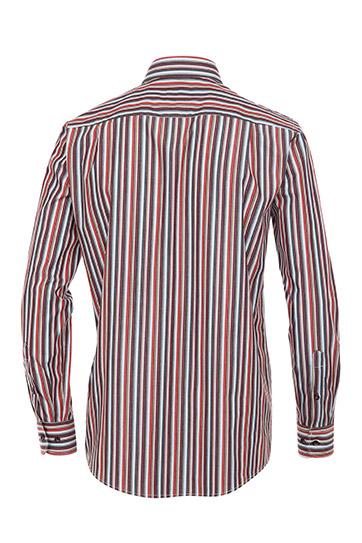 Camisas, Sport Manga Larga, 108917, ROJO