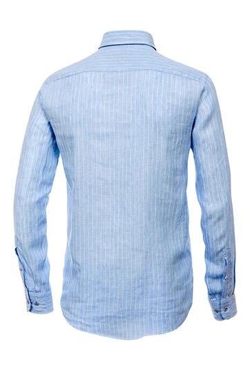 Camisas, Sport Manga Larga, 108921, CELESTE