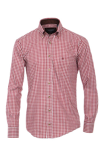 Camisas, Sport Manga Larga, 108934, ROJO