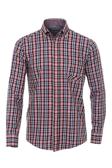 Camisas, Sport Manga Larga, 108963, MARINO