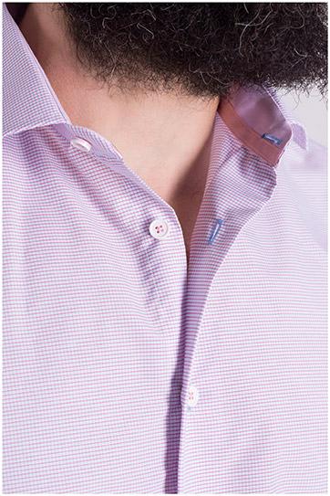 Camisas, Vestir Manga Larga, 108976, ROSA