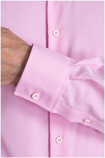 Camisas, Vestir Manga Larga, 108977, ROSA
