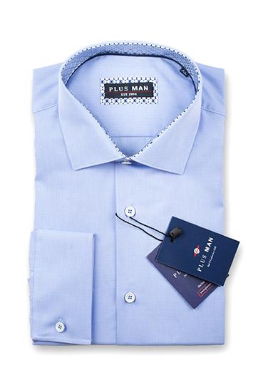 Camisas, Vestir Manga Larga, 108977, CELESTE