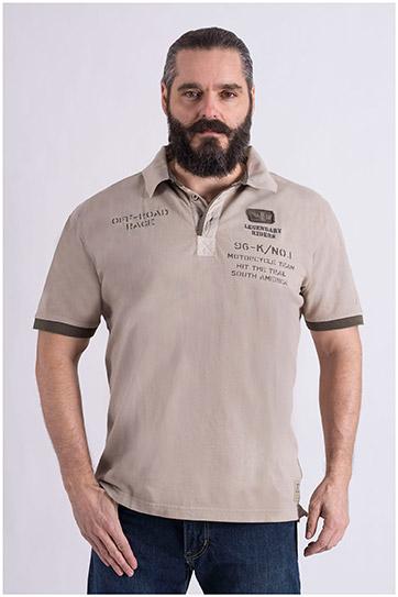 Sport, Polos M. Corta, 109024, KAKI