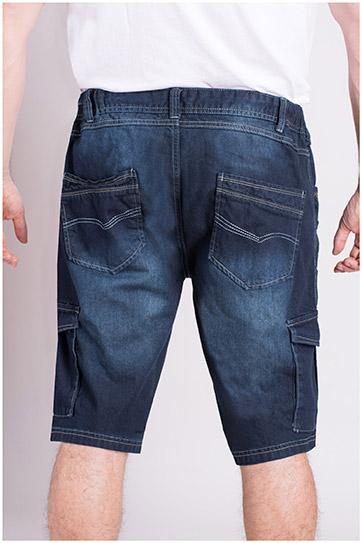 Pantalones, Bermudas, 109035, INDIGO