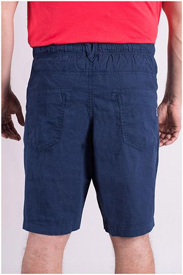Pantalones, Bermudas, 109037, MARINO