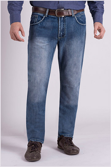 Pantalones, Vaqueros, 109063, INDIGO